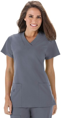 Jockey Women's Scrubs Wrinkle-Free Top