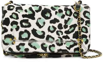 Jerome Dreyfuss Bobi leopard print shoulder bag