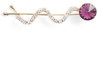 Ficcare Swarovski Crystal Hairpin $24 thestylecure.com