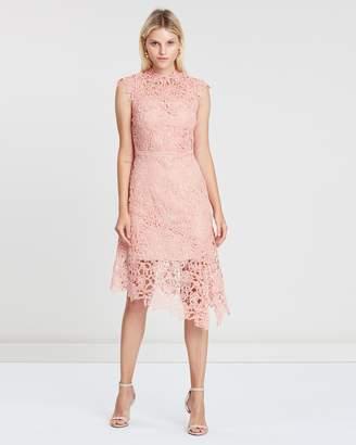 Reiss Lace Hem Bodycon Dress