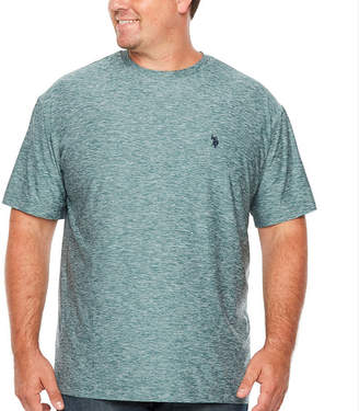 U.S. Polo Assn. Mens Crew Neck Short Sleeve T-Shirt-Big and Tall