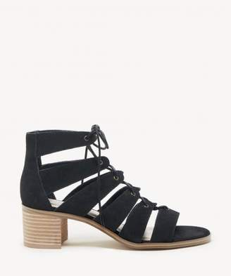 Sole Society Leigh Cage Lace-Up Sandal