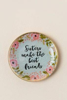 Natural Life Sisters Make the Best Friends Trinket Dish