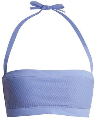 Heidi Klein Portinatx Bandeau Bikini Top - Womens - Blue
