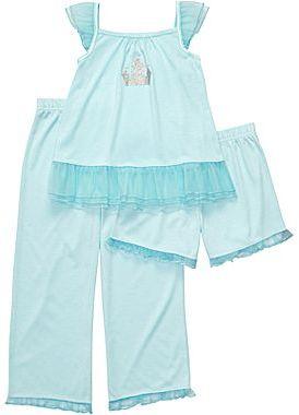 Carter's 3-pc. Princess Castle Pajamas - Girls 12m-24m