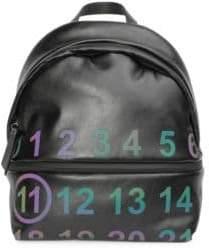 Maison Margiela Leather Logo Backpack