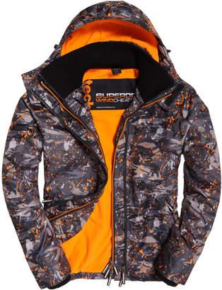 Superdry Pop Zip Print Hooded Arctic SD- Windcheater Jacket