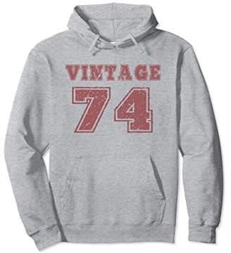 1974 Vintage Birthday Gift Hoodie For Men Women