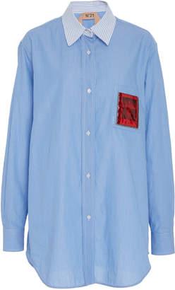 N°21 N 21 Contrasting Collar Shirt
