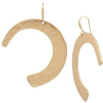 Robert Lee Morris Soho Crescent Drop Earrings