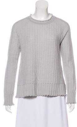 Marc Jacobs Ruffled Cashmere Sweater