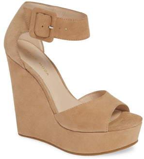 Pelle Moda Ojai Platform Wedge Sandal