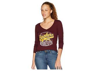 Champion College Minnesota Golden Gophers Long Sleeve V-Neck Tee