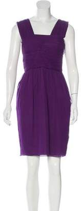 Robert Rodriguez Silk Sleeveless Dress
