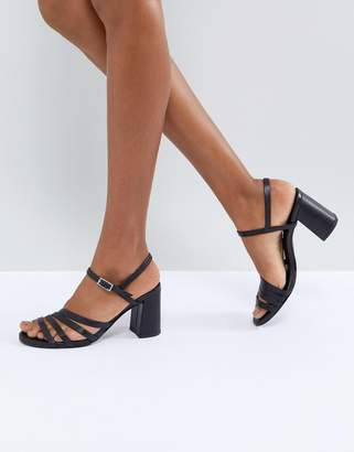 Vagabond Cherie Strappy Leather Heeled Sandals
