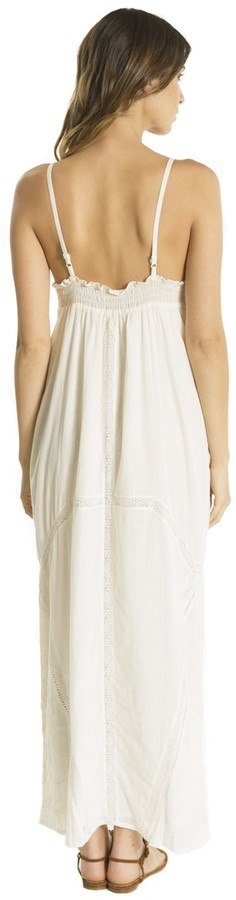 Babakul Taja Lace Embroidered Maxi Dress