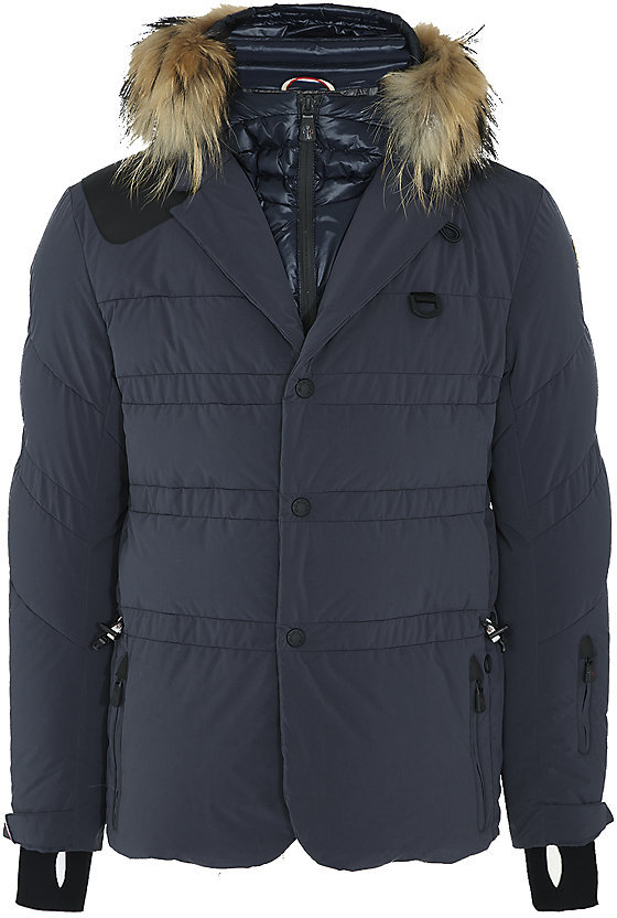 Moncler Zillertal Fur Trim Jacket