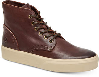 Frye Men's Beacon High-Top Leather Lace Up Sneakers Men's Shoes