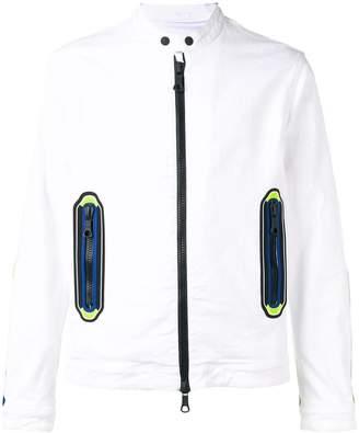 DSQUARED2 full-zipped denim jacket