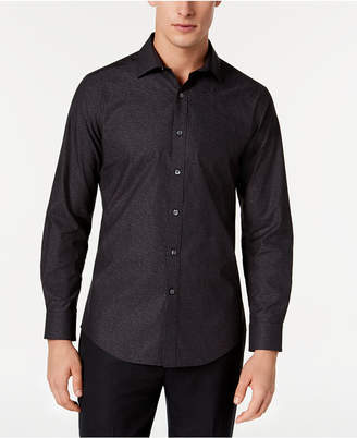 Bar III Men's Wear-Me-Out Slim-Fit Stretch Easy-Care Printed Dress Shirt