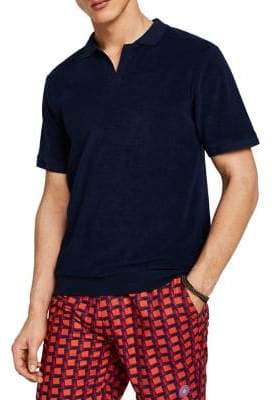 Scotch & Soda Pool Side Beach Cotton Blend Polo