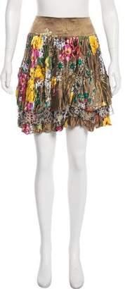 Just Cavalli Mini Printed Skirt