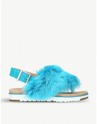UGG Holly suede slippers