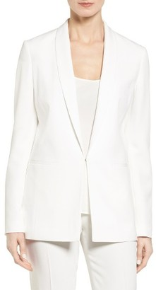Women's Boss Juxida Tuxedo Jacket $625 thestylecure.com