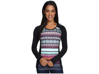 Hot Chillys MTF Sublimated Print Scoop Neck Top Women's T Shirt