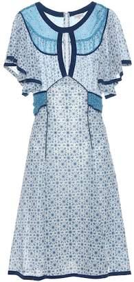 Talitha Printed silk dress