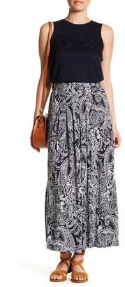 Joe Fresh Pleated Maxi Skirt $29 thestylecure.com