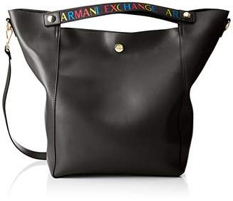 2e3e481181d7 Armani Exchange Women s Big Tote Cross-Body Bag