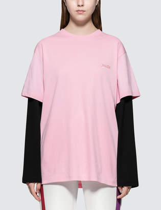Rocket X Lunch Sleeve Layered L/S T-Shirt