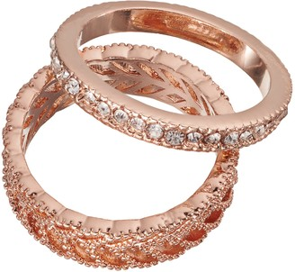 Lauren Conrad Leaf Ring Set