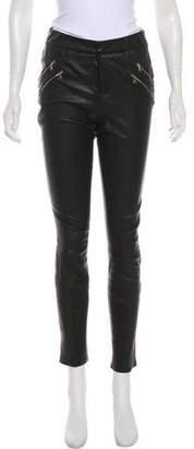 J Brand Skinny Leather Jeggings