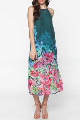 Everly Floral Maxi $83 thestylecure.com