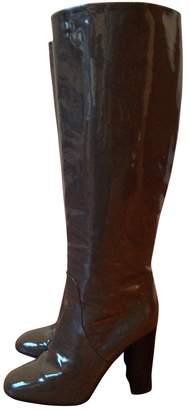 Bottega Veneta Grey Patent leather Boots
