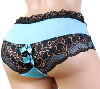 aishani SISSY pouch panties men's lace bikini thong briefs underwear sexy for men