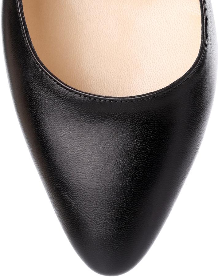 Jimmy Choo Lipp black leather pump