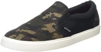 Crocs Men's CitiLane Graphic Slip-On Sneak Flat