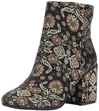 Kenneth Cole New York Women's Reeve Block Heel Bootie Brocade Ankle