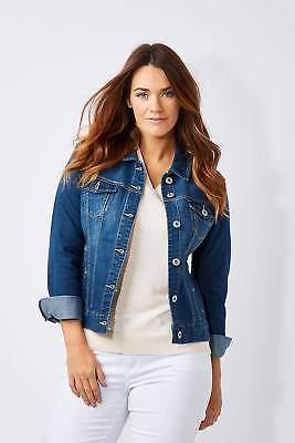 Liverpool NEW Womens Jackets Denim Jacket