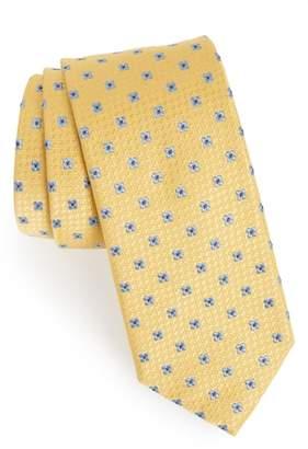 Eton Neat Floral Silk Tie