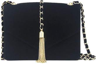 Nicole Miller Nicole By Tara Tassel Crossbody Bag