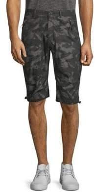ProjekRaw Camouflage Cotton Shorts