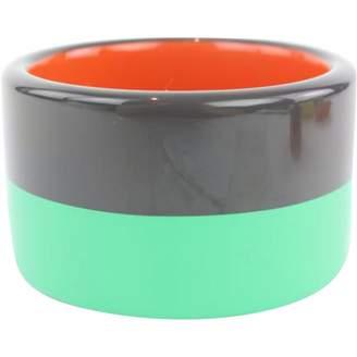Hermes Green Metal Bracelets