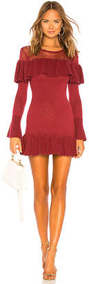 Tularosa Alexa Ruffle Sweater Dress