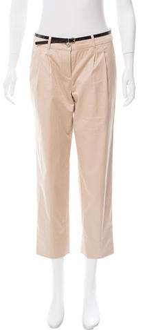 Kate Spade New York Mid-Rise Cropped Pants