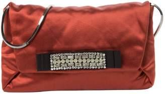 Lanvin Cloth Clutch Bag