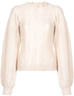 Ulla Johnson ruffled neck sweater